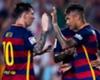 Neymar, Messi sigue marcando el camino