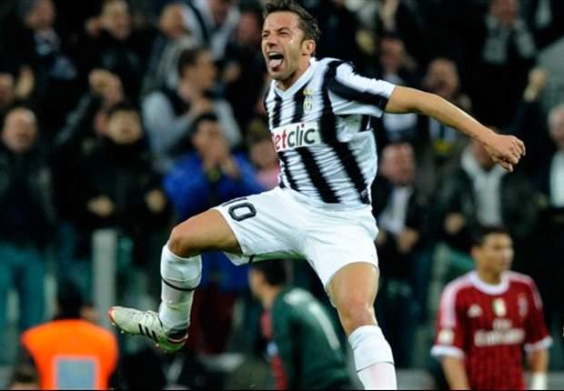 Del Piero tells of his pride at reaching Coppa Italia final
