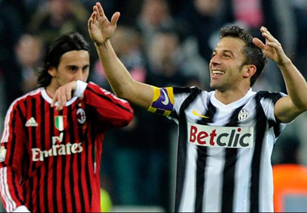 In Pictures: From Champions League glory to Bernabeu brilliance - Del Piero's memorable Juventus moments
