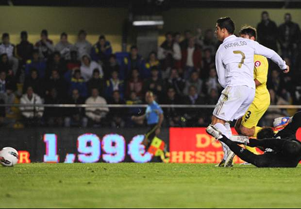 Villarreal 1-1 Real Madrid: Senna free-kick cancels out Ronaldo's opener and denies nine-man league leaders victory