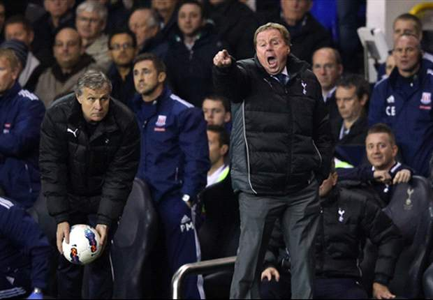 Redknapp blames players for Tottenham slump