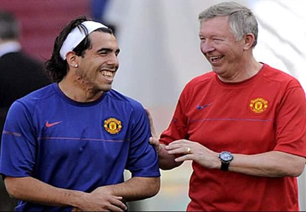 KARTUN: Sir Alex Ferguson Masih Hidup, Carlos Tevez!