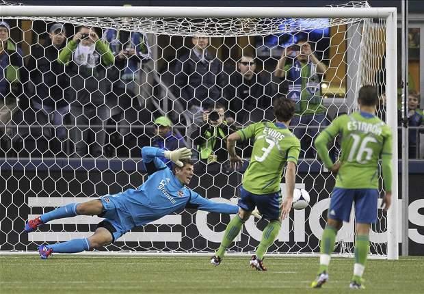 Seattle Sounders FC 2-0 Houston Dynamo: David Estrada scores - again