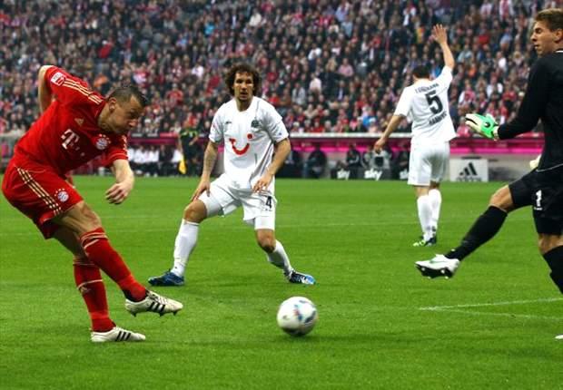Bayern zittert sich zu einem 2:1-Sieg gegen Hannover 96