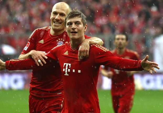 Cedera Toni Kroos Untungkan Arjen Robben