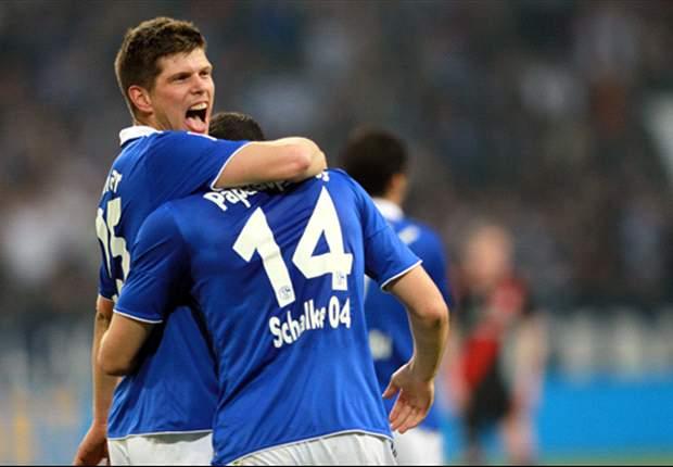 Schalke 2-0 Bayer Leverkusen: Huntelaar brace sends Huub Stevens' men into third