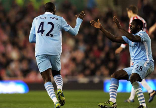 Stoke City 1-1 Manchester City: Yaya Toure screamer salvages point to move visitors top after Crouch wondergoal