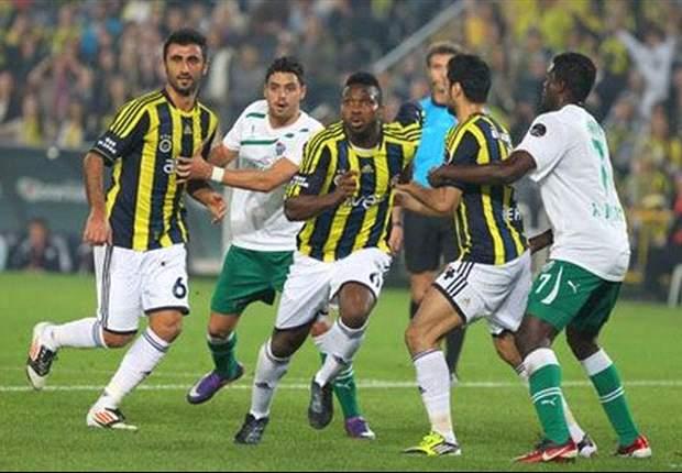 Knapper Sieg für Fenerbahce gegen Bursaspor