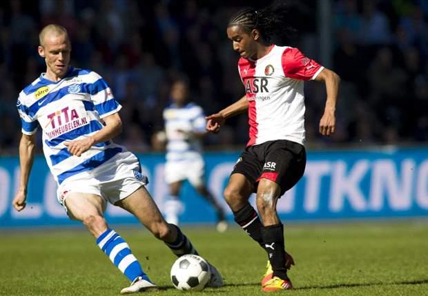 Feyenoord na rust langs De Graafschap