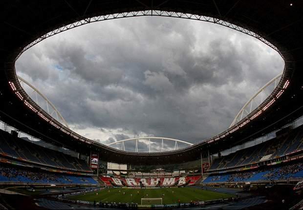 El estadio Engenhão de Río de Janeiro, clausurado por fallos estructurales
