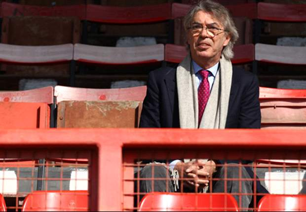 Moratti rules out January arrivals at Inter