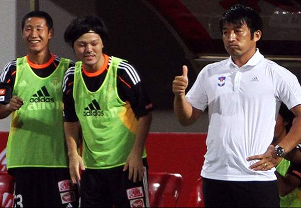 'We controlled the game today' - Albirex Niigata (S) coach Koichi Sugiyama on his team's slim victory over Laotian invitees