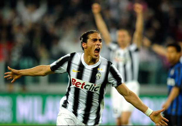 Juventus 2-0 Inter: Caceres and Del Piero settle Derby d'Italia and close gap to leader AC Milan back to four points
