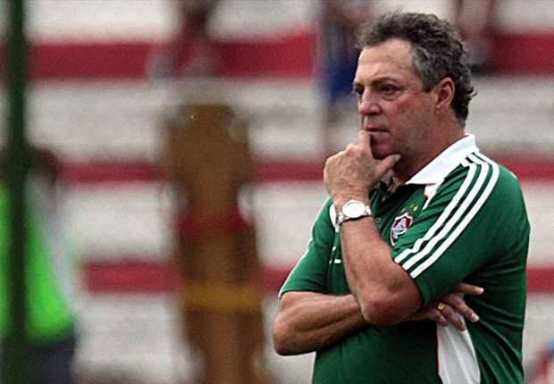 Abel Braga se diz satisfeito com rendimento do Flu