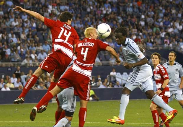 Sporting Kansas City 2-1 FC Dallas: Late Kei Kamara goal keeps Sporting's perfect start intact