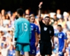Chelsea 2-2 Swansea: Courtois red
