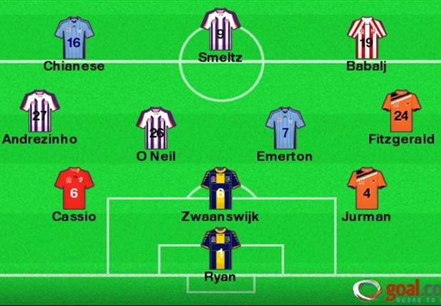A-League Team of the Week: Week 25 - Shane Smeltz leads the XI as finals-bound teams dominate
