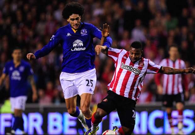 Sunderland 0-2 Everton: Jelavic opener and Vaughan own goal send Moyes' men through to face rival Liverpool at Wembley