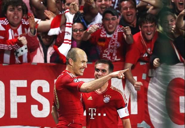 "LdC, Bayern - Robben: ""Le Real en demie"""