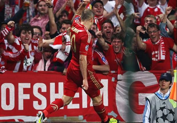 Marsiglia-Bayern Monaco 0-2: I francesi si sciolgono nella ripresa, Gomez e Robben mettono 'Mou' nel mirino
