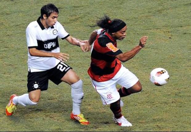 Olimpia se aproveita da desatenção do Flamengo e vence por 3 a 2