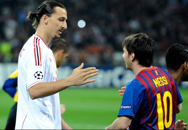 Ibrahimovic: Messi is more naturally gifted than Ronaldo