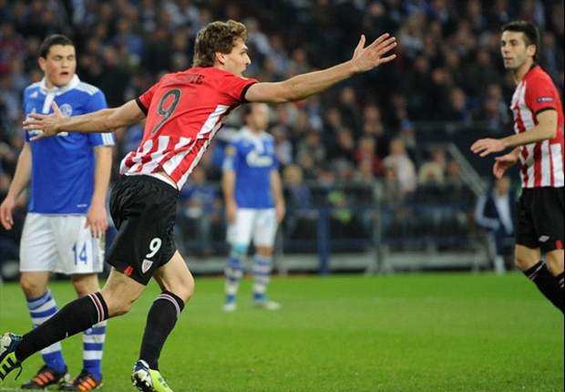Schalke 2-4 Athletic Bilbao: Raul's double in vain as Llorente, De Marcos and Muniain put Basques on brink of last four
