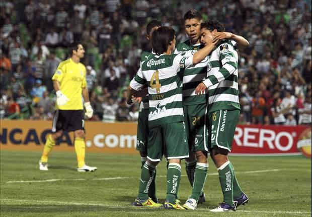 Santos Laguna 2-1 Monterrey: Guerreros and Herculez Gomez hoist Clausura trophy