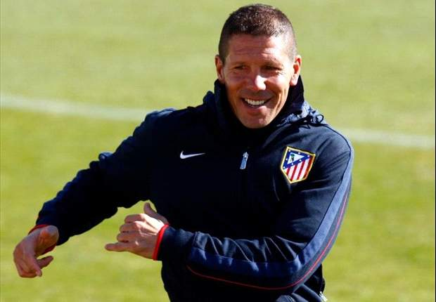 Simeone delighted with Atletico Madrid form