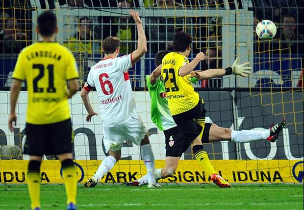 Borussia Dortmund 4-4 Stuttgart: Six goals & two lead-changes in final 19 minutes as BVB & VfB share spoils in thriller
