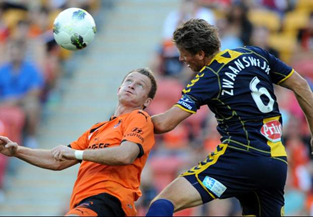 Brisbane Roar 2-0 Central Coast Mariners: Roar in box seat