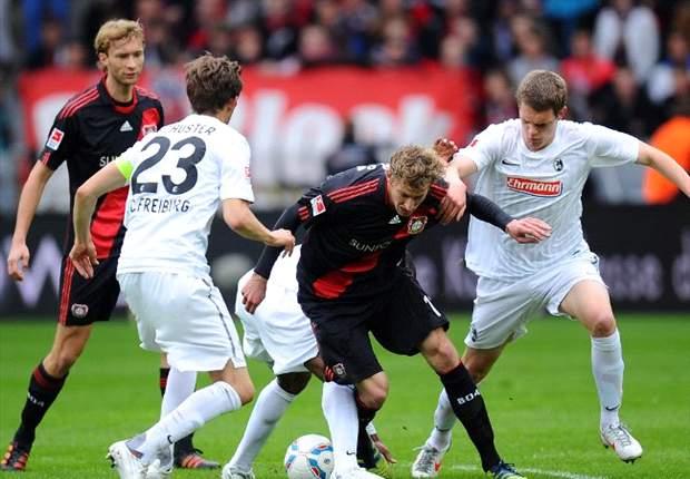 Freiburg schießt Leverkusen mit 2:0 weiter in die Krise