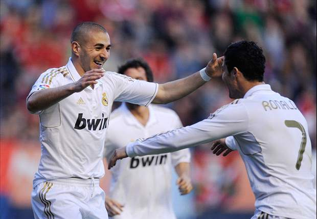 Osasuna 1-5 Real Madrid: Ronaldo and Higuain at the double, Benzema hits stunner as Mourinho's men make a statement