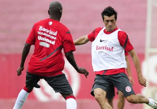 Inter: Fernandão e Dátolo discutem durante treino