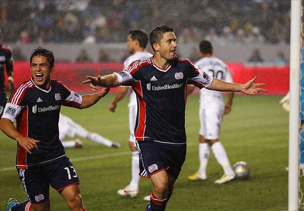 LA Galaxy 1-3 New England Revolution: Reigning champ shocked at home