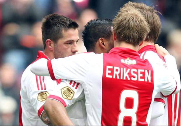 Ajax 6-0 Heracles: Six-goal haul sees rampant hosts go top