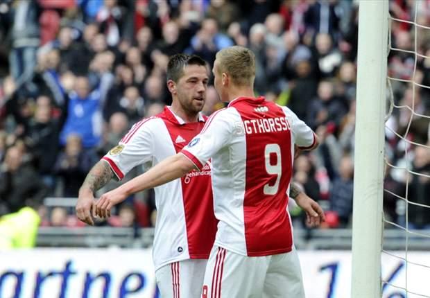 Ajax-Stürmer Sigthorsson mit Schulter-Verletzung