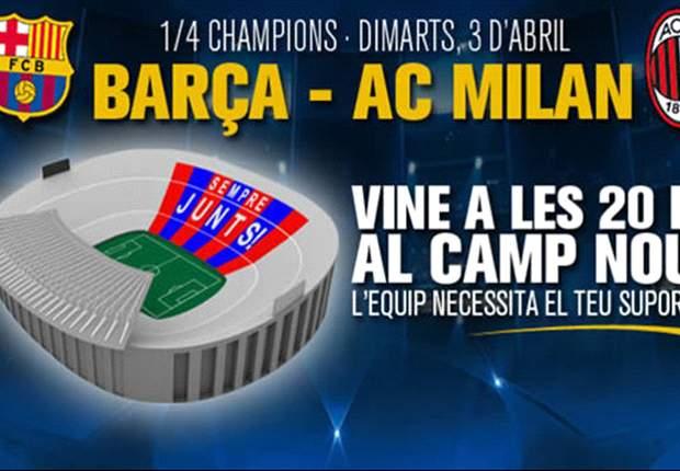 PREVIEW Liga Champions: Barcelona-Milan: Masih Berpeluang