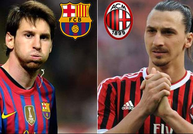 Barcelona v AC Milan Fanview: What's the talk on Facebook and Twitter?