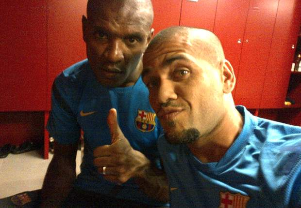 Abidal gives Barcelona 'thumbs up' ahead of Milan clash