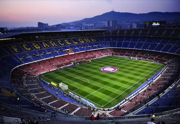 Barcelona unveil Clasico mosaic