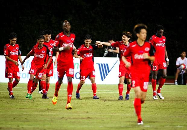 Brunei DPMM 0-1 Home United: Defending cup holders defy suspensions, league position and a contentious dismissal to eliminate a DPMM side playing a home fixture far away from home
