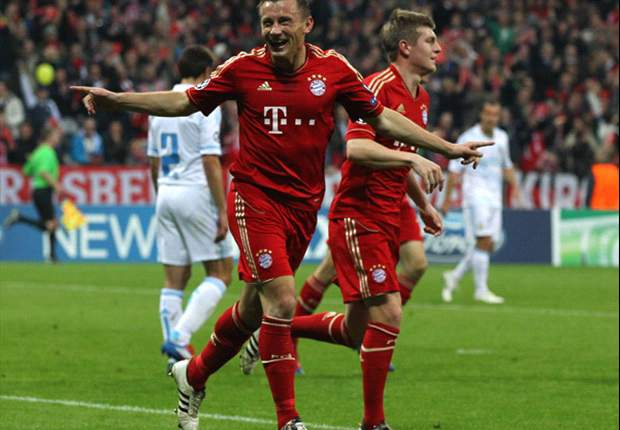 Bayern Munich 2-0 Olympique de Marseille (Agg 4-0): Olic double clinches spot for Bavarians