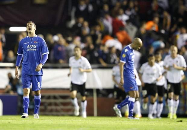 Valencia spielt Alkmaar an die Wand und stürmt ins Halbfinale
