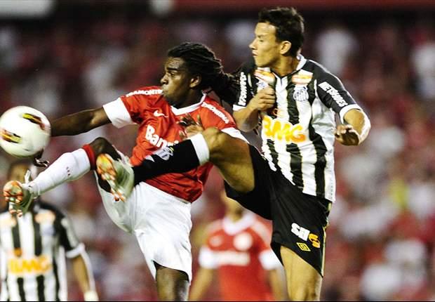 Em busca de uma vaga para a Libertadores, Inter e Santos se enfrentam pela 28ª rodada do Brasileião