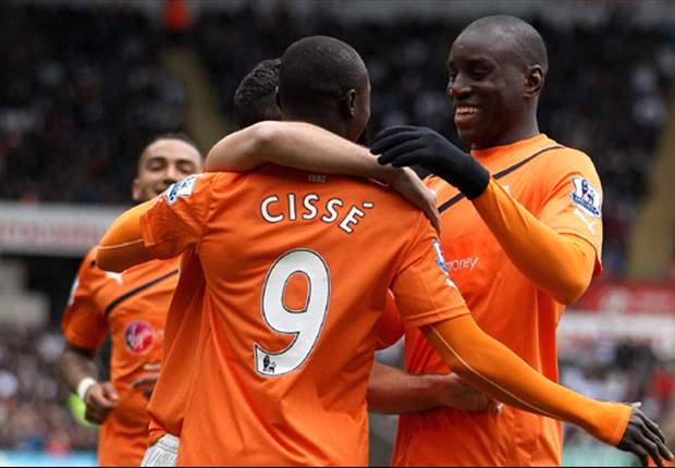 Swansea City 0-2 Newcastle: Sublime Cisse hits clinical double as visitors climb above Chelsea to boost top-four chances