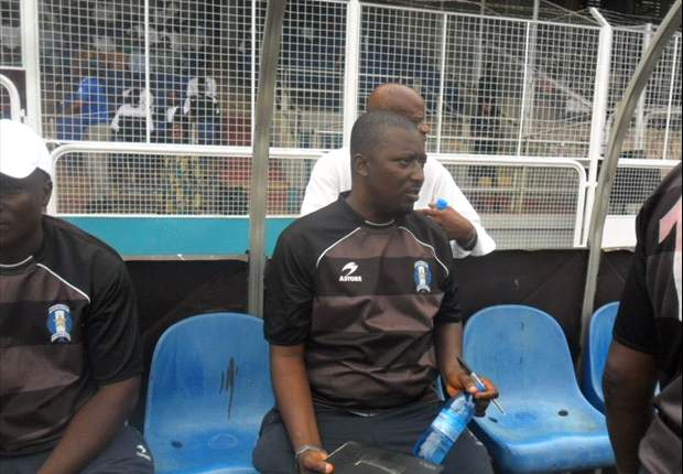 Hakeem Busari is Shooting Stars' coach