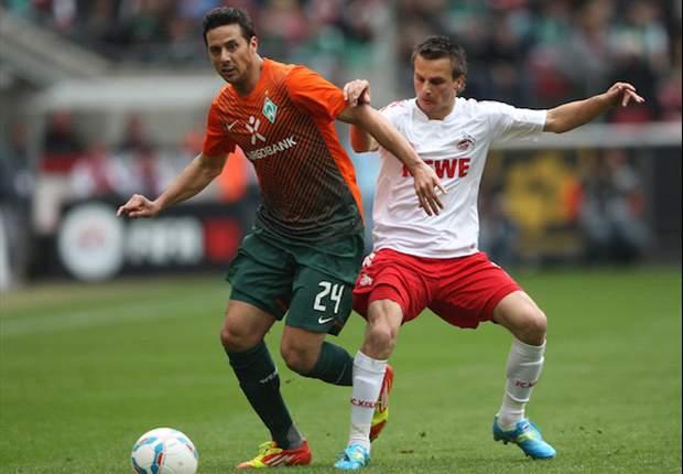 Duell der Krisenklubs: Köln und Bremen trennen sich 1:1-Unentschieden