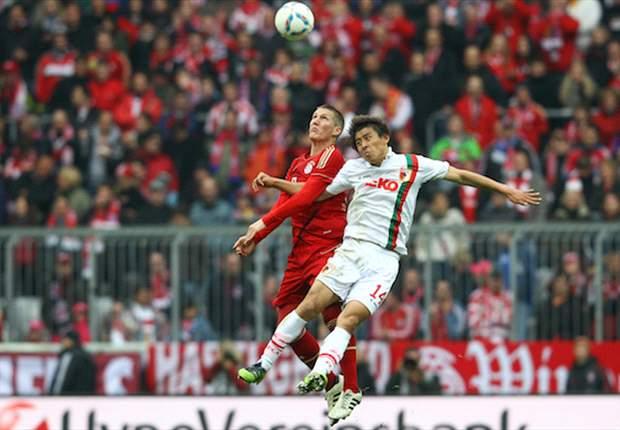 Arbeitssieg im Derby: Bayern München ringt den FC Augsburg nieder