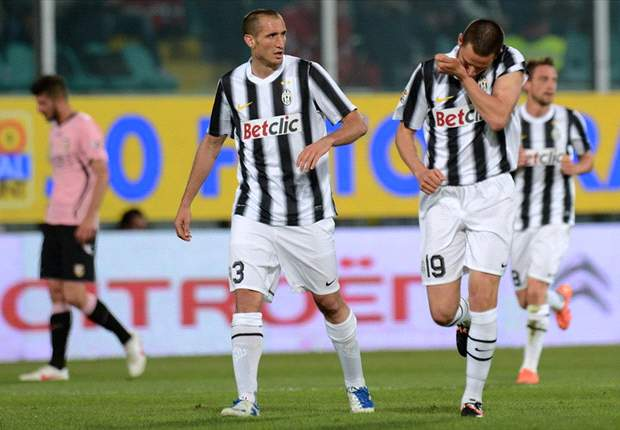Palermo 0-2 Juventus: Bonucci and Quagliarella send dominant Bianconeri back to the top of Serie A